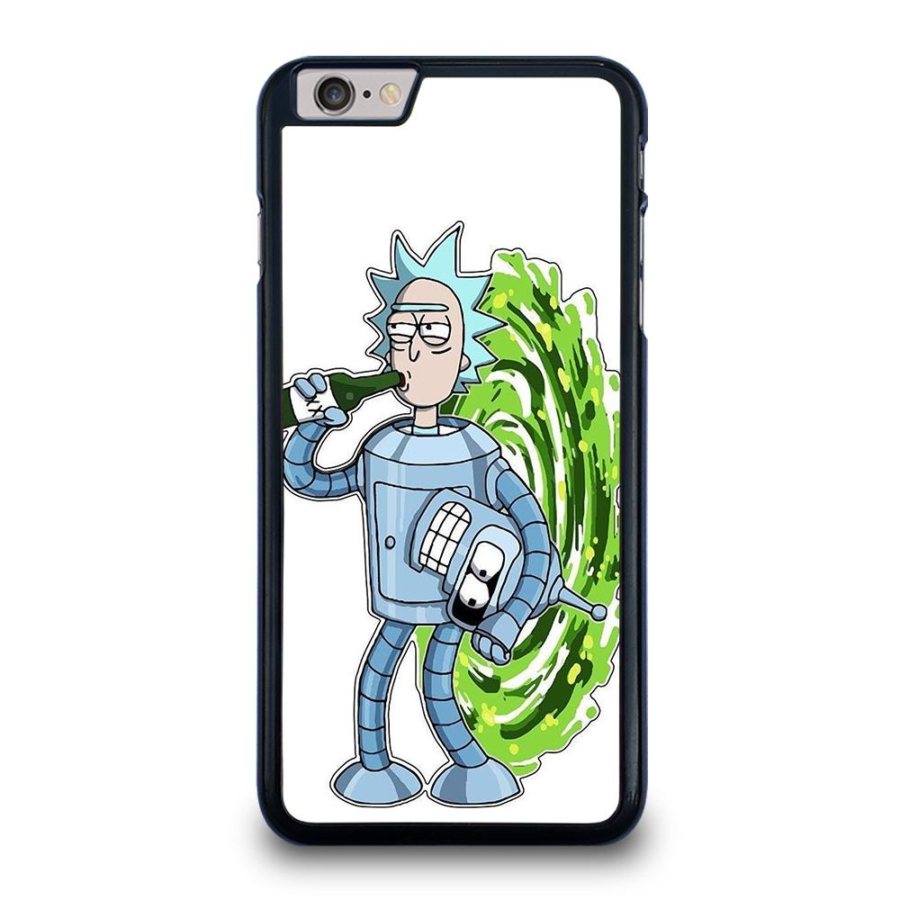 RICK AND MORTY FUTURAMA iPhone 6 / 6S Plus Hoesje