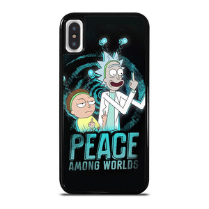 RICK AND MORTY PEACE AMONG WORLDS iPhone X / XS Hoesje
