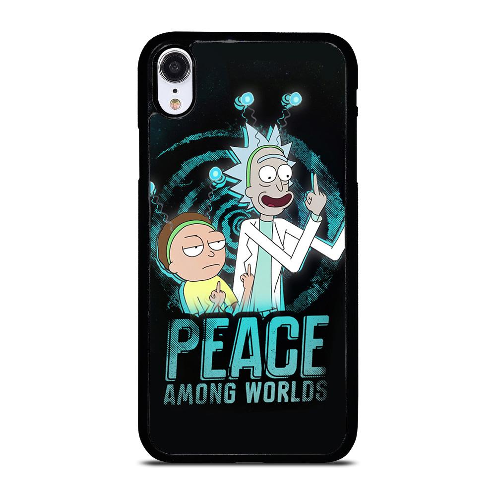 RICK AND MORTY PEACE AMONG WORLDS iPhone XR Hoesje,kpn iphone xr hoesje iphone xr hoesje leer,RICK AND MORTY PEACE AMONG WORLDS iPhone XR Hoesje