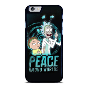RICK AND MORTY PEACE AMONG WORLDS iPhone 6 / 6S hoesje