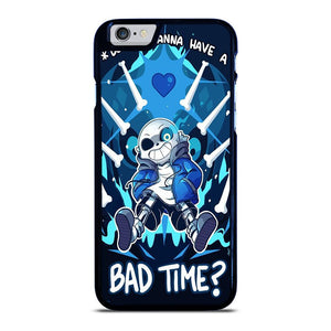 SANS UNDERTALE  BAD TIME 2 iPhone 6 / 6S hoesje
