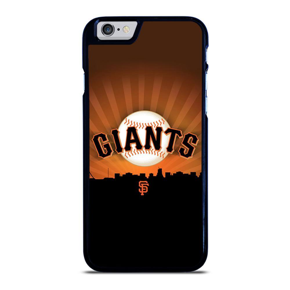 SAN FRANCISCO GIANTS MLB LOGO iPhone 6 / 6S hoesje