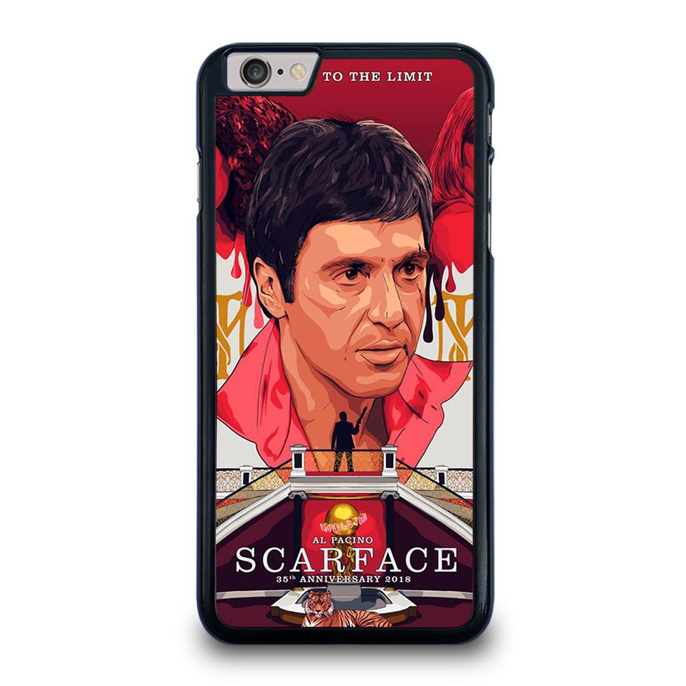 SCARFACE CLIPART iPhone 6 / 6S Plus Hoesje
