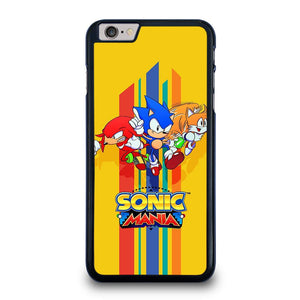 SONIC THE HEDGEHOG MANIA iPhone 6 / 6S Plus Hoesje