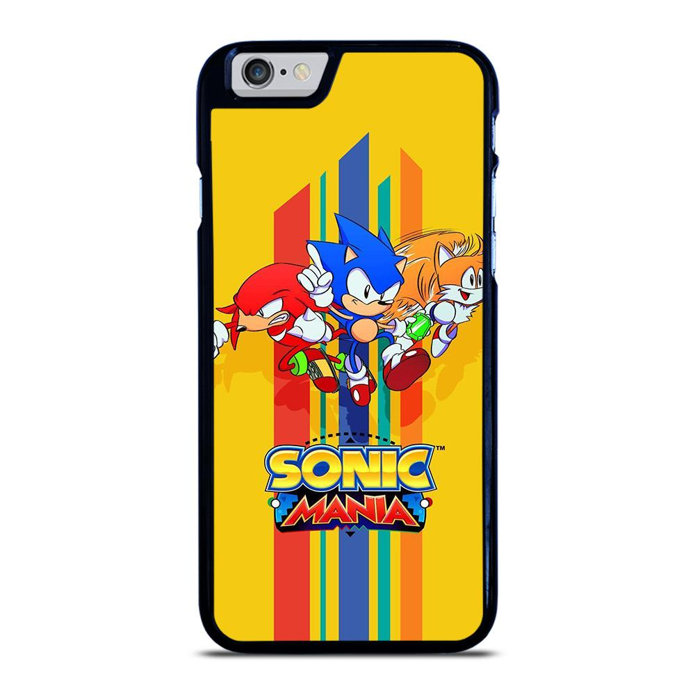 SONIC THE HEDGEHOG MANIA iPhone 6 / 6S hoesje