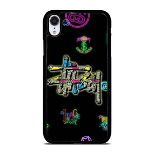 STUSSY LOGO COLOR FULL iPhone XR Hoesje,iphone xr hoesje transparant iphone xr hoesje,STUSSY LOGO COLOR FULL iPhone XR Hoesje