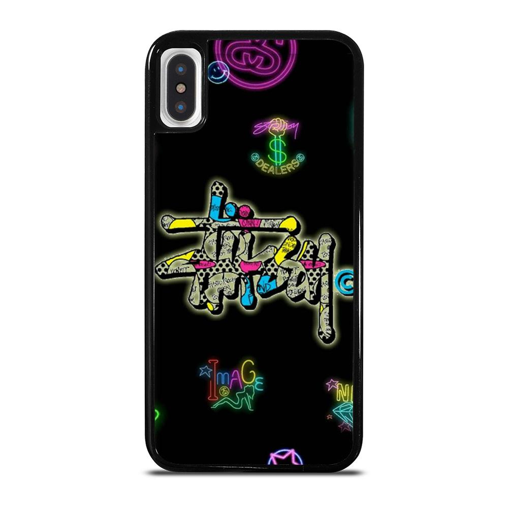 STUSSY LOGO COLOR FULL iPhone X / XS Hoesje