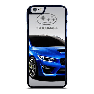 SUBARU CAR BLUE LOGO iPhone 6 / 6S hoesje