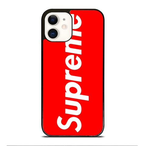 SUPREME SIMPLE LOGO Iphone 12 mini pro max hoesje