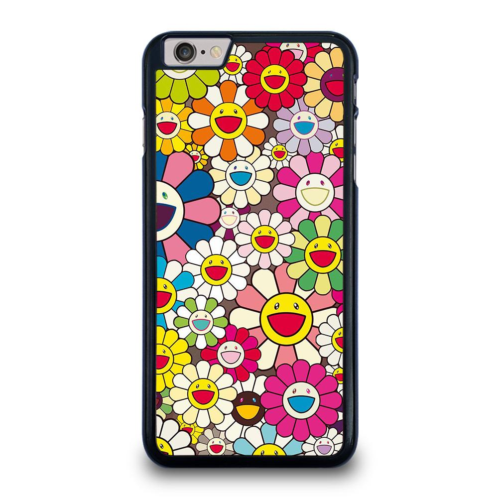 TAKASHI MURAKAMI FLOWERS COLLAGE iPhone 6 / 6S Plus Hoesje