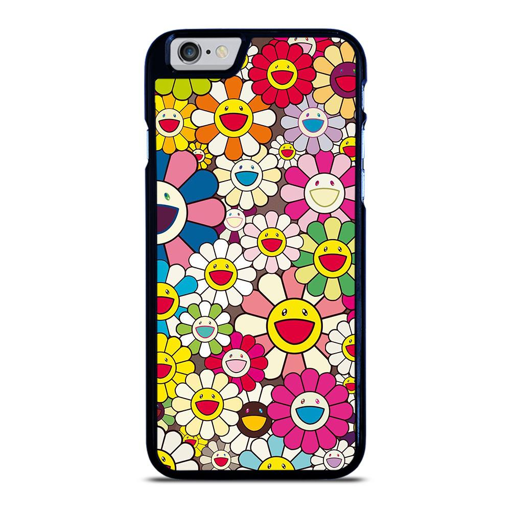 TAKASHI MURAKAMI FLOWERS COLLAGE iPhone 6 / 6S hoesje