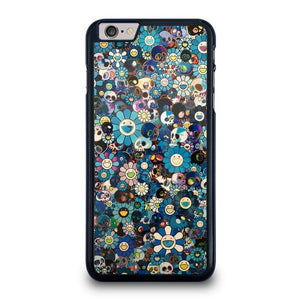 TAKASHI MURAKAMI FLOWERS SKULL iPhone 6 / 6S Plus Hoesje