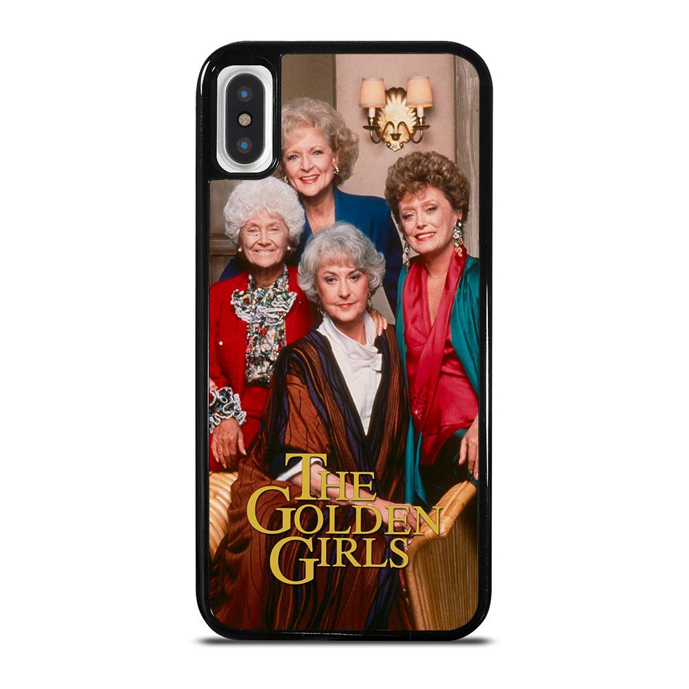 THE GOLDEN GIRLS TV SHOW iPhone X / XS Hoesje