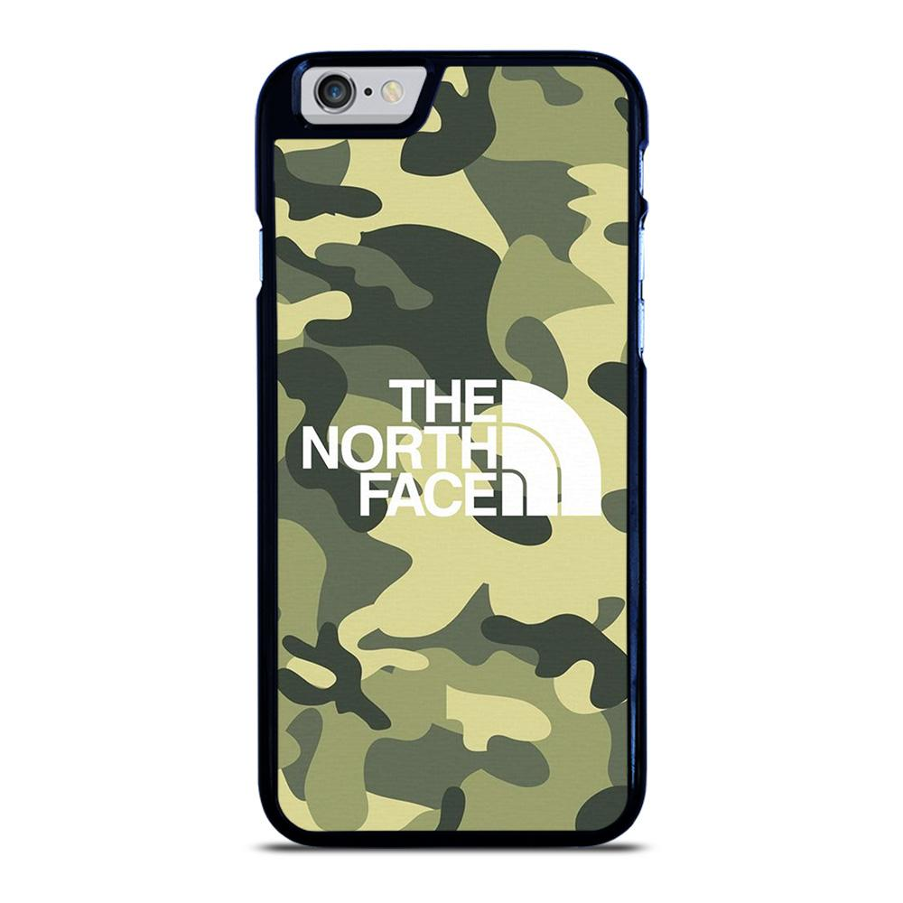 THE NORTH FACE CAMO LOGO iPhone 6 / 6S hoesje