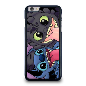 TOOTHLESS AND STITCH CARTOON iPhone 6 / 6S Plus Hoesje