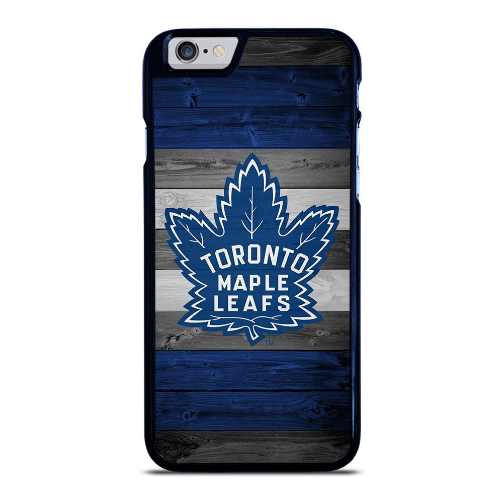 TORONTO MAPLE LEAFS WOODEN LOGO iPhone 6 / 6S hoesje