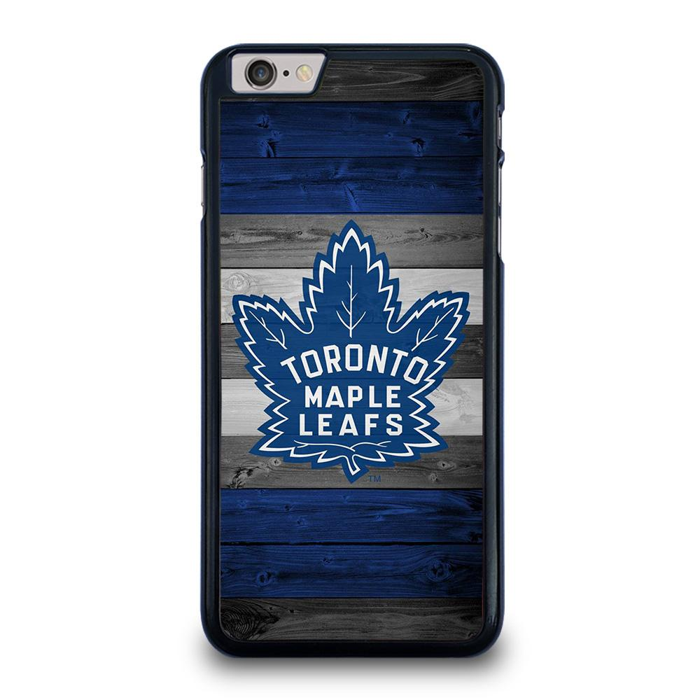 TORONTO MAPLE LEAFS WOODEN LOGO iPhone 6 / 6S Plus Hoesje
