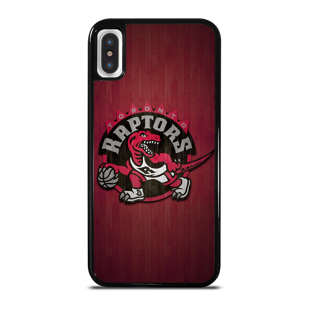 TORONTO RAPTORS WOODEN LOGO iPhone X / XS Hoesje