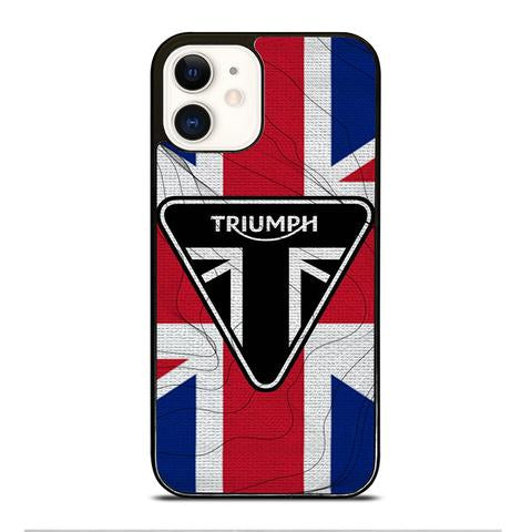 TRIUMPH MOTORCYCLE icon Iphone 12 mini pro max hoesje