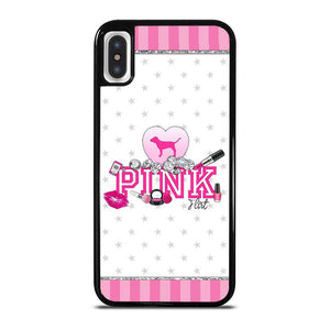 VICTORIA'S SECRET PINK DOG iPhone X / XS Hoesje
