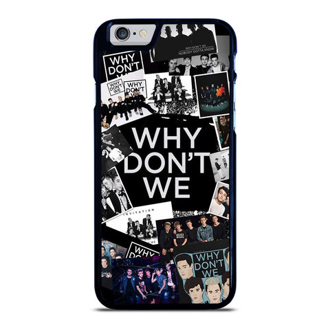WHY DON'T WE BAND COLLAGE iPhone 6 / 6S Hoesje - goedhoesje