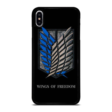 WINGS OF FREEDOM AOT iPhone XS Max Hoesje,xs max hoesje iphone xs max hoesje morgen in huis,WINGS OF FREEDOM AOT iPhone XS Max Hoesje