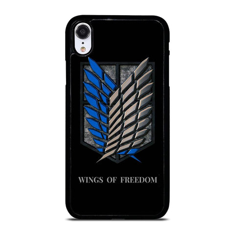 WINGS OF FREEDOM AOT iPhone XR Hoesje,iphone xr hoesje sterren iphone xr hoesje grip,WINGS OF FREEDOM AOT iPhone XR Hoesje