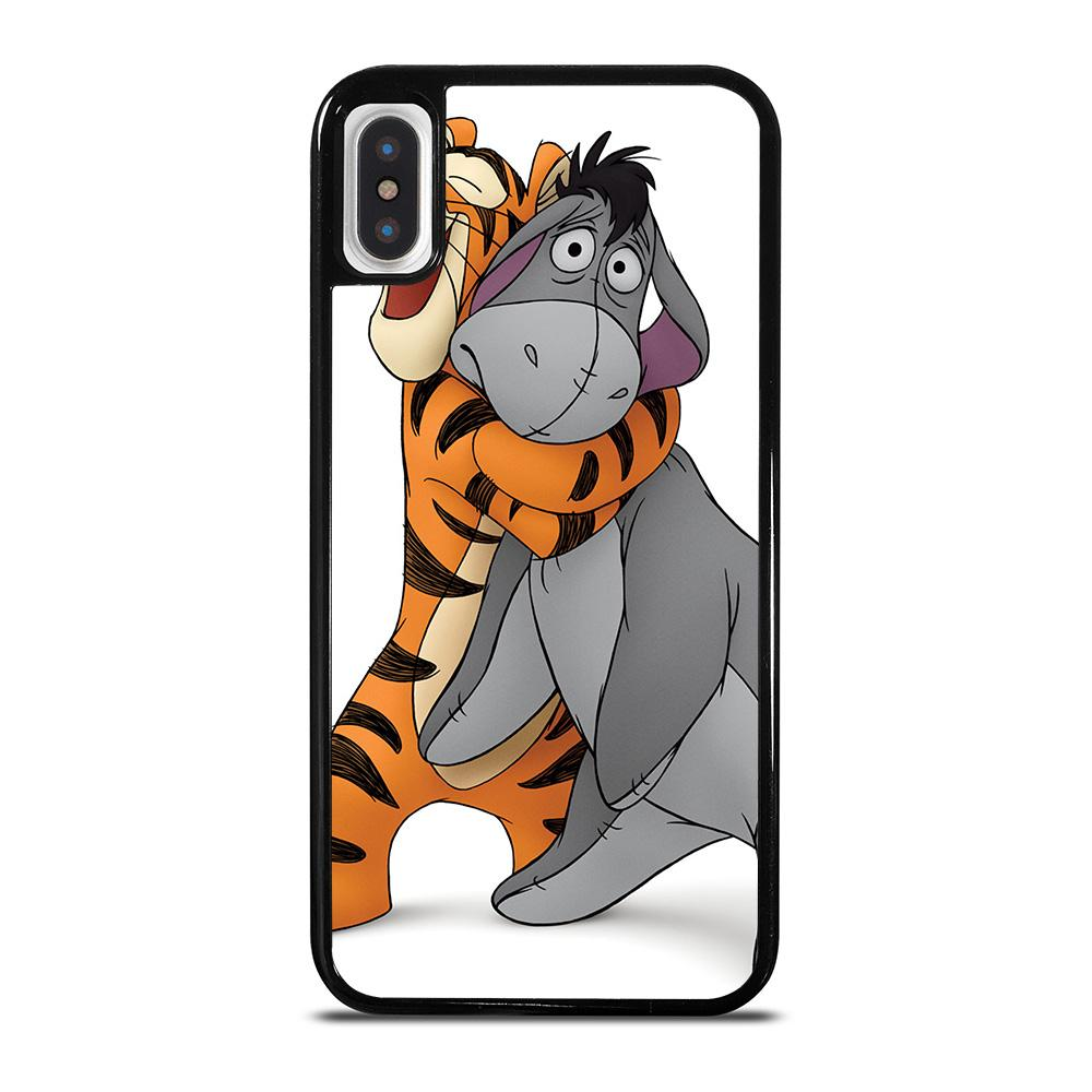 WINNIE THE POOH EEYORE AND TIGER iPhone X / XS Hoesje