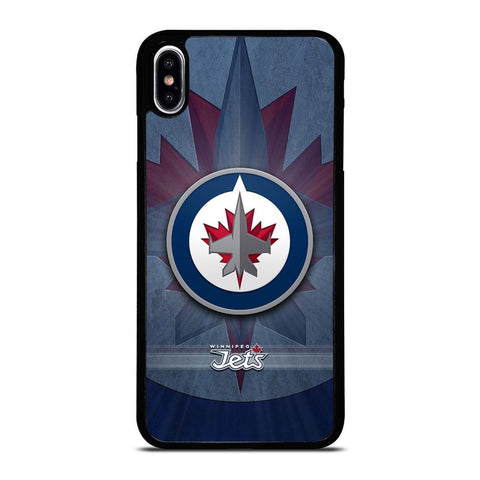 WINNIPEG JETS ICON iPhone XS Max Hoesje,iphone xs max hoesje eigen ontwerpen iphone xs max hoesje,WINNIPEG JETS ICON iPhone XS Max Hoesje
