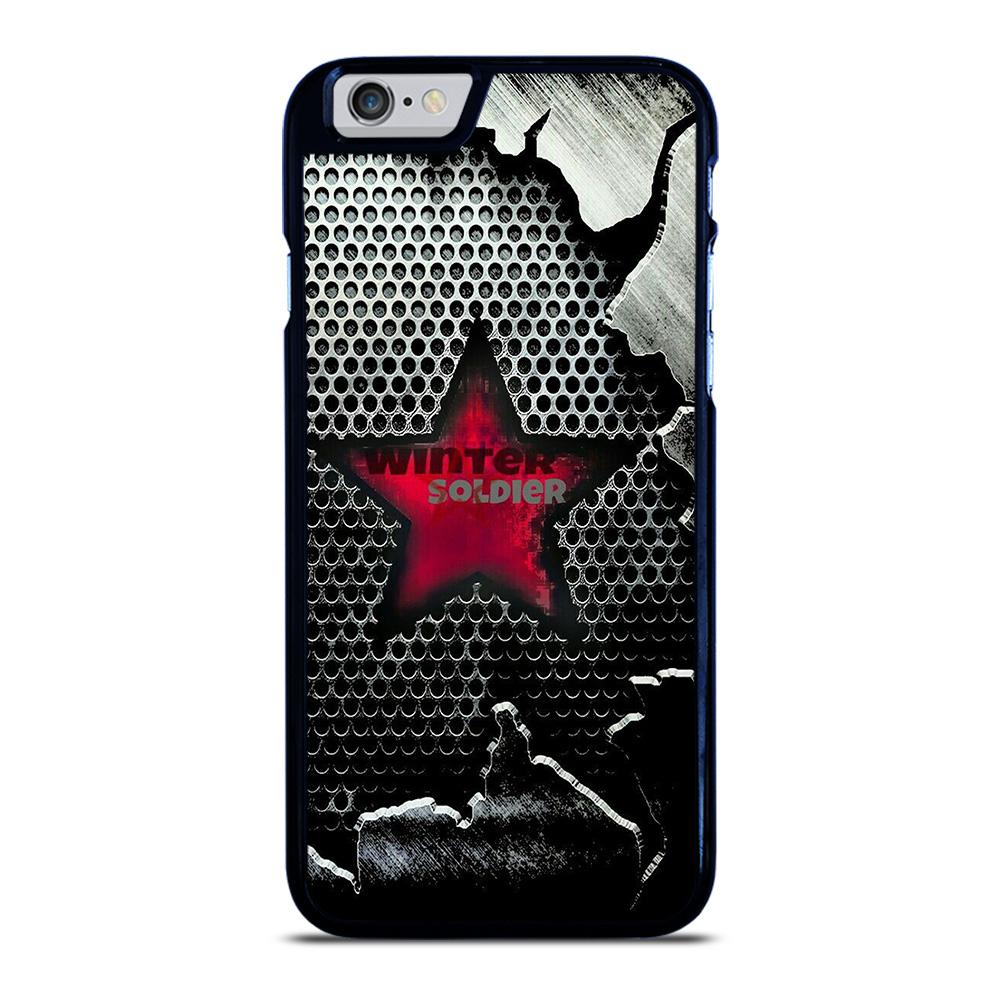 WINTER SOLDIER LOGO MARVEL iPhone 6 / 6S hoesje