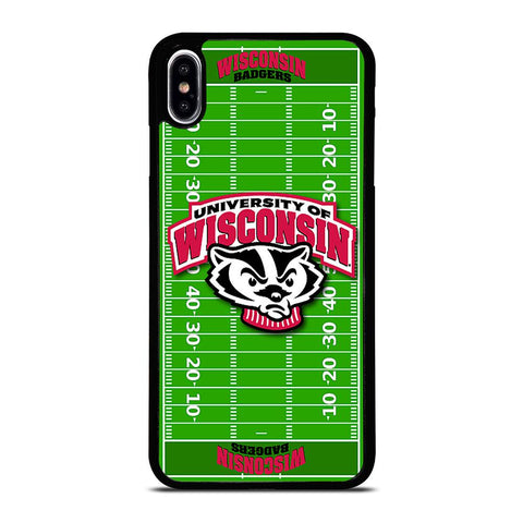 WISCONSIN BADGER FOOTBALL iPhone XS Max Hoesje,iphone xs max hoesje coolblue iphone xs max hoesje met magneet,WISCONSIN BADGER FOOTBALL iPhone XS Max Hoesje