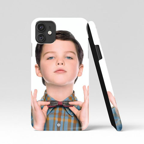 coque custodia cover case fundas hoesjes iphone 11 pro max 5 6 6s 7 8 plus x xs xr se2020 pas cher p10979 Young Sheldon TV Series Poster Wallpapers