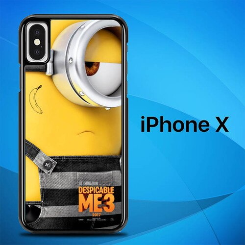 Despicable Me 3 O0753 hoesjes iPhone X, XS