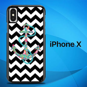 Anchor Chevrons O3358 hoesjes iPhone X, XS