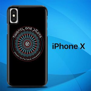 Twenty One Pilots Power to The Local Dreamers O3479 hoesjes iPhone X, XS