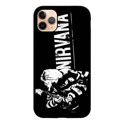 coque custodia cover case fundas hoesjes iphone 11 pro max 5 6 6s 7 8 plus x xs xr se2020 pas cher X9524 Nirvana Z1317