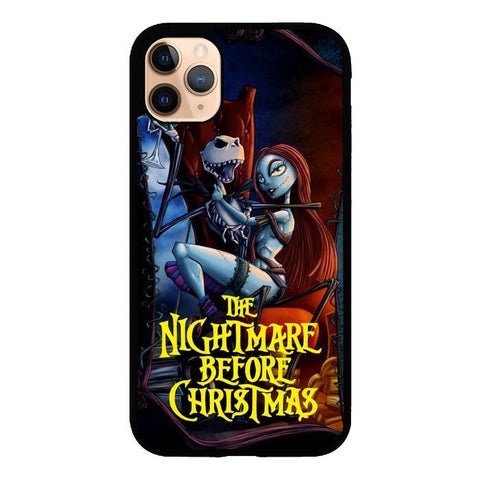 coque custodia cover case fundas hoesjes iphone 11 pro max 5 6 6s 7 8 plus x xs xr se2020 pas cher X9521 Nightmare Before Christmas Romance Z2862