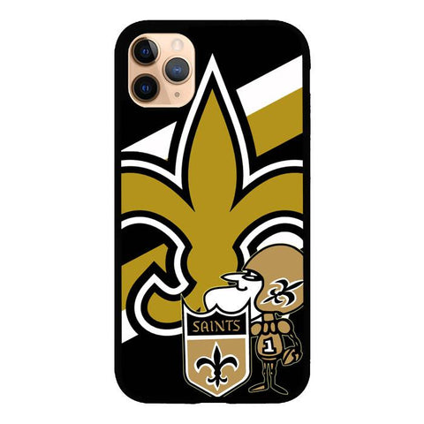 coque custodia cover case fundas hoesjes iphone 11 pro max 5 6 6s 7 8 plus x xs xr se2020 pas cher X9486 New Orleans Saints Z3024