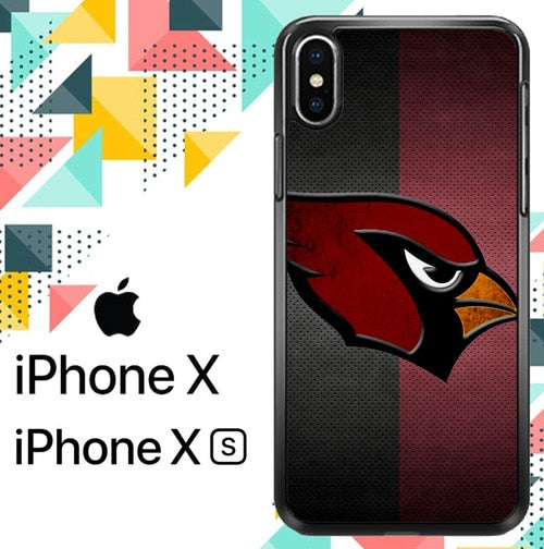 arizona cardinals Z4145 hoesjes iPhone X, XS