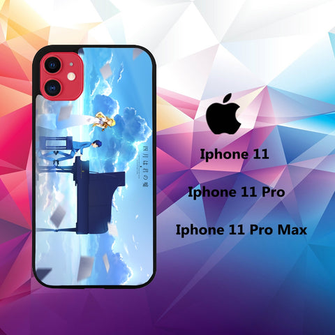 iphone 11 pro max hoesjes case L5200 your lie in april iphone wallpaper 112jR1