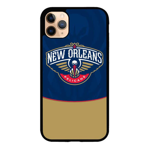 coque custodia cover case fundas hoesjes iphone 11 pro max 5 6 6s 7 8 plus x xs xr se2020 pas cher X9484 New Orleans Pelicans X3426