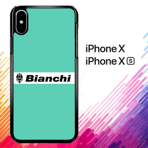 Bianchi Bike Logo Bicycle X4702 hoesjes iPhone X, XS