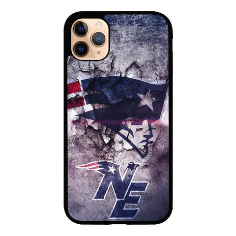coque custodia cover case fundas hoesjes iphone 11 pro max 5 6 6s 7 8 plus x xs xr se2020 pas cher X9478 New England Patriots NFL X4844