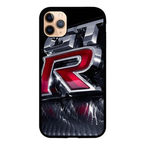 coque custodia cover case fundas hoesjes iphone 11 pro max 5 6 6s 7 8 plus x xs xr se2020 pas cher X9525 Nissan GT R Logo X5011