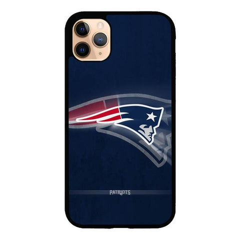 coque custodia cover case fundas hoesjes iphone 11 pro max 5 6 6s 7 8 plus x xs xr se2020 pas cher X9477 New England Patriots Logo X5941