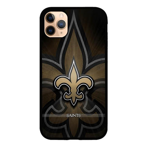 coque custodia cover case fundas hoesjes iphone 11 pro max 5 6 6s 7 8 plus x xs xr se2020 pas cher X9485 New Orleans Saints NFL X6031