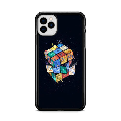 Cube World Artwork iPhone 11 hoesjes Pro Max