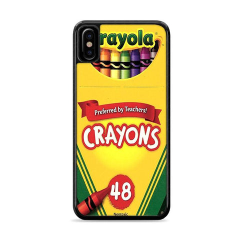 Crayola Crayons iPhone X hoesjes Cases
