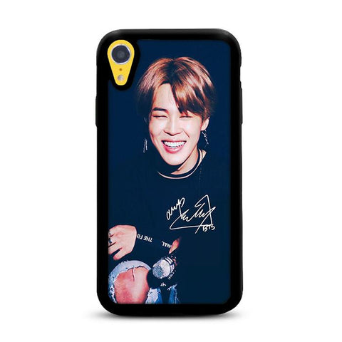 BTS Jimin Photo iPhone XR hoesjes