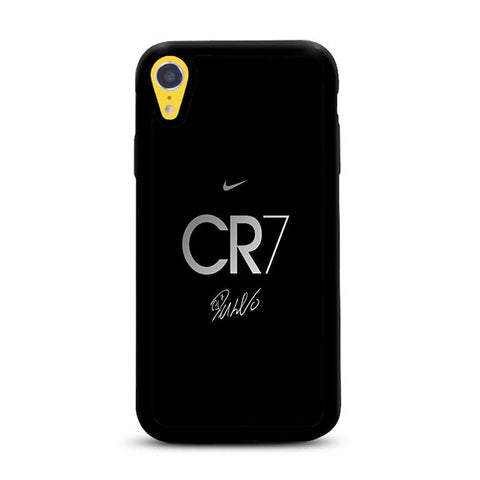 CR7 Black Signature iPhone XR hoesjes